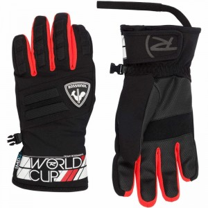 RĘKAWICE ROSSIGNOL JR RACE IMPR G RED