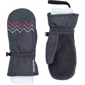 RĘKAWICE ROSSIGNOL JR JANE M DARK GRAY