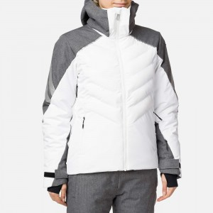 KURTKA ROSSIGNOL W COURBE HEATHER JKT GRAY