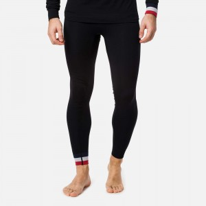 LEGGINSY ROSSIGNOL DROITE UNDERWEAR TIGHT BLACK (MEN)