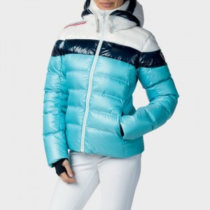 KURTKA ROSSIGNOL W HIVER DOWN JKT LIGHT BLUE