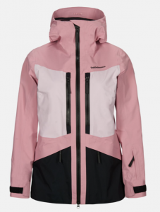 KURTKA NARCIARSKA PEAK PERFORMANCE W GRAVITY JACKET PINK
