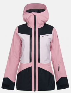 KURTKA NARCIARSKA PEAK PERFORMANCE W GRAVITY 2L JACKET PINK